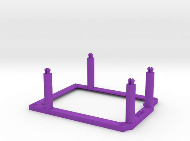 High desktop stand for Arduino Uno / Leonardo 3d printed