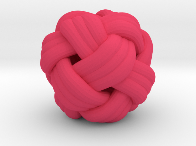 Tiny Turks Head Knot 3d printed