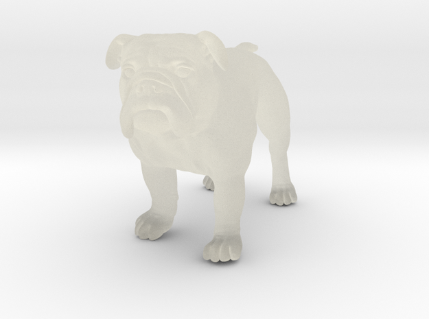 Bulldog S Full Color Sandstone 3d printed