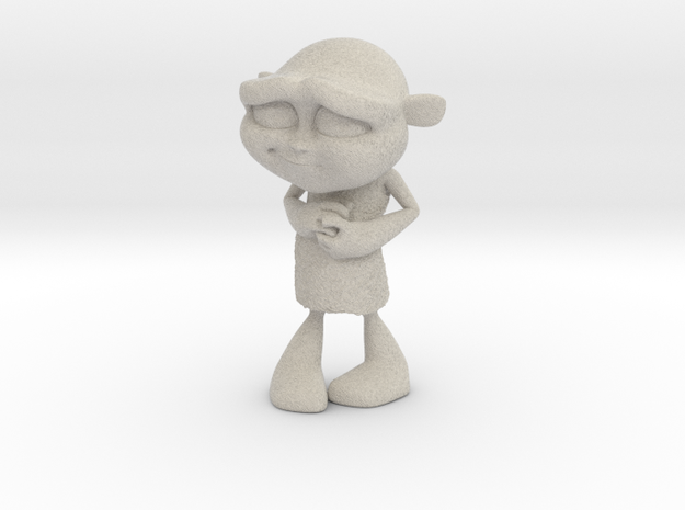 Gus Figurine - Medium - Plastic 3d printed