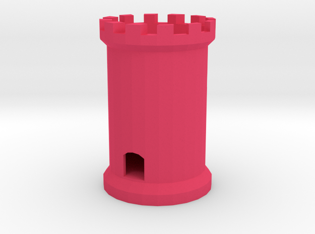 Chess Tower or Folly with circular staircase two 3d printed