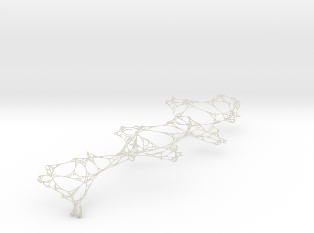 Twisted Complex Network 3d printed