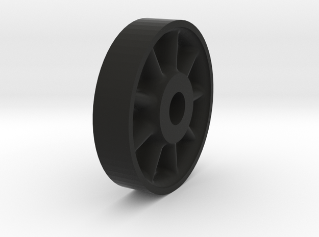 26in Wheel Center 3d printed