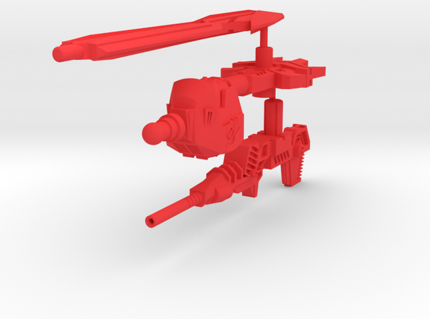 WingerBlitzer Upgrade Kit 3d printed