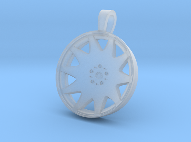 MRR HR3 Flat Key Chain 35mm 3d printed