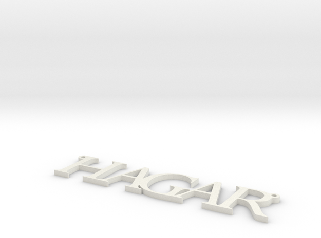 Name Necklace customized with any name 3d printed