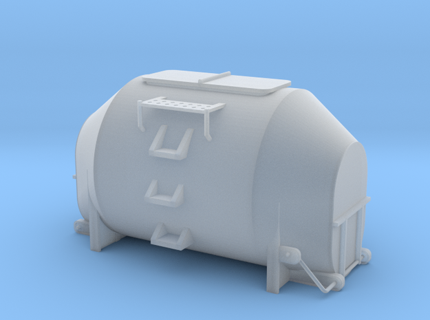 Efkr Dry Bulk Container - HOscale 3d printed