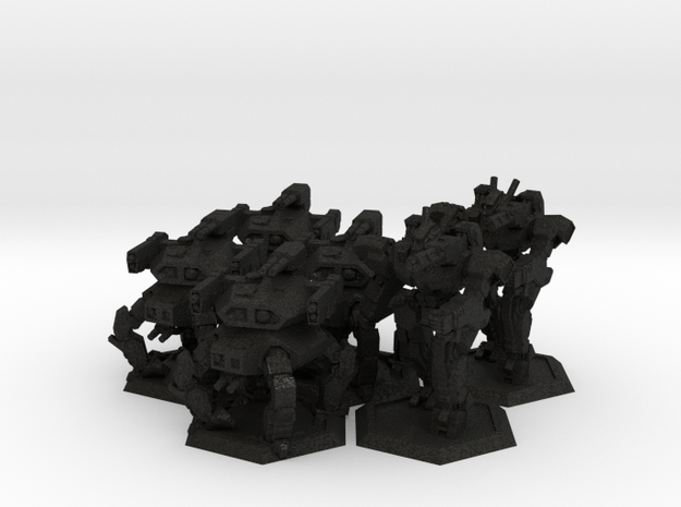 WHAM- Fusion Era Battle Pack A x2 (1/285th) 3d printed