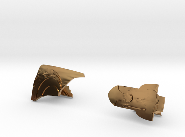 Rocketeer Cufflinks 3d printed