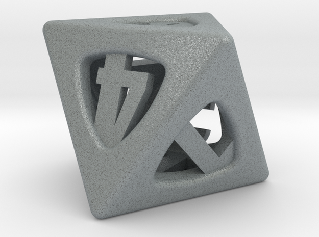 Thoroughly Modern Die8 3d printed