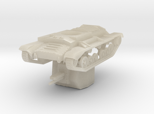 Vehicle- Valentine Tank Bishop (1/72) 3d printed
