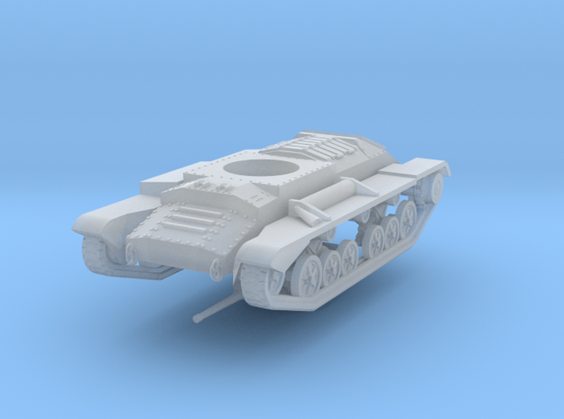 Vehicle- Valentine Tank MkIII (1/72) 3d printed