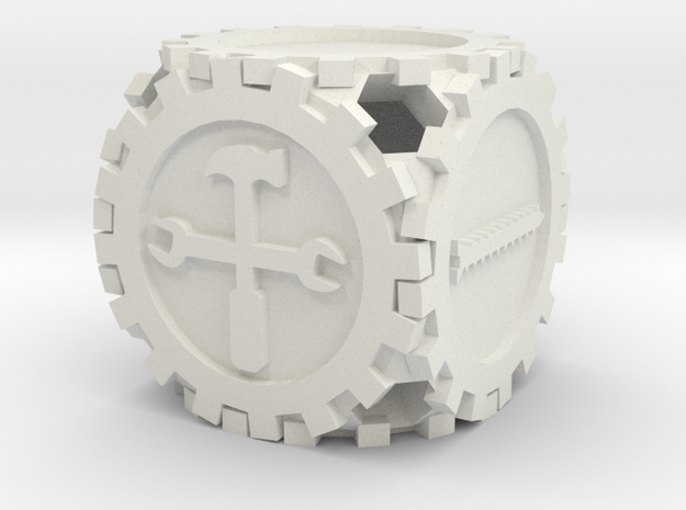Gearpunk Die Fudge FATE 3d printed