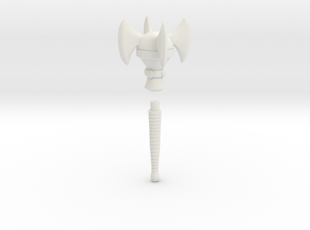 Mace of the Space Pirate (Cartoon version) 3d printed