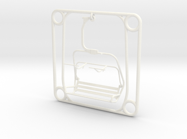 Tile - Ski Lift Chair 3d printed