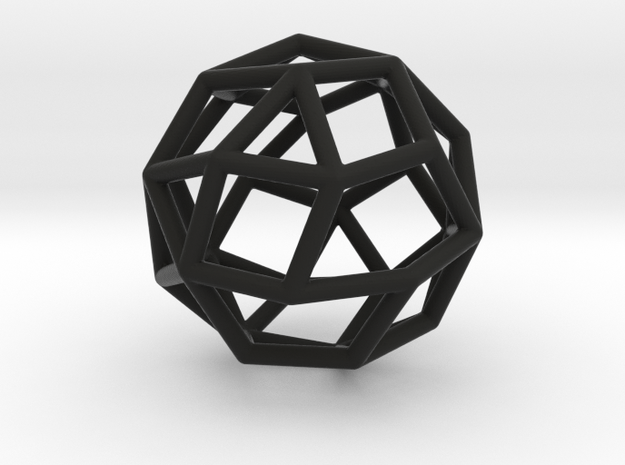 MaxiMin 30 Vertices 3d printed
