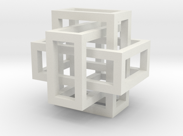 13mm Linked Cubes 3d printed