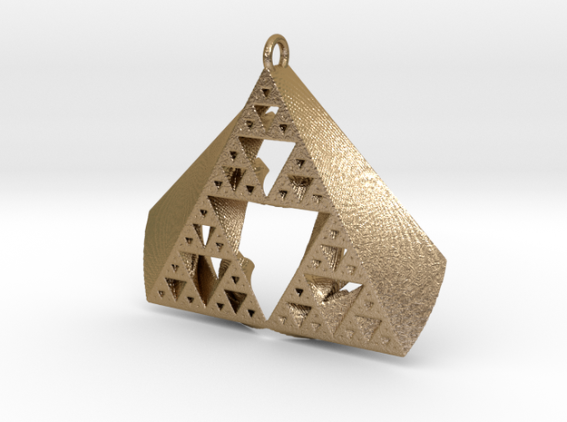 SuperFractal Pendant 3d printed
