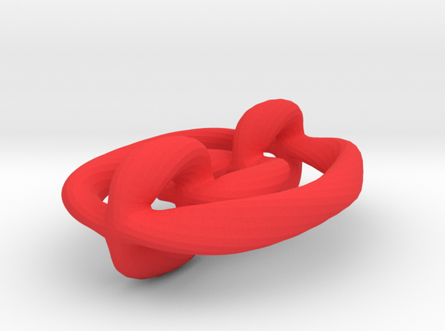 Twisted Chain 3d printed