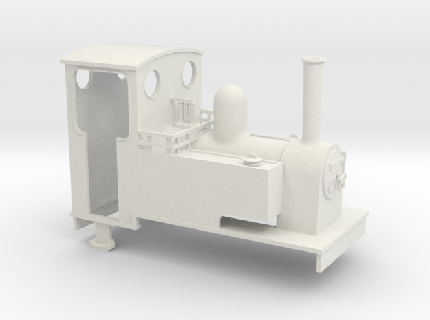 1:32/1:35 side tank loco 3d printed