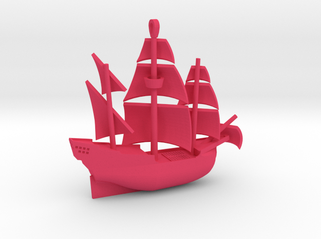 Galleon Revised (Oct 25) 3d printed
