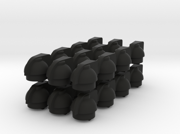 Assembly Of 24 Chicken Head Knobs for trimpotmeter 3d printed