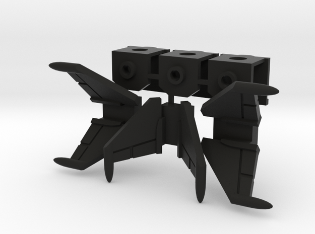 Cockpit Trio with Wings (v3) 3d printed