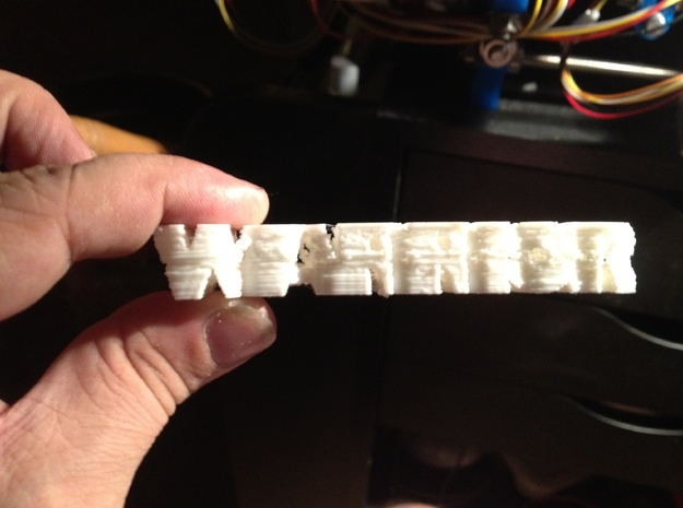goddess/warrior 3d printed plastic proof from my home RepRap