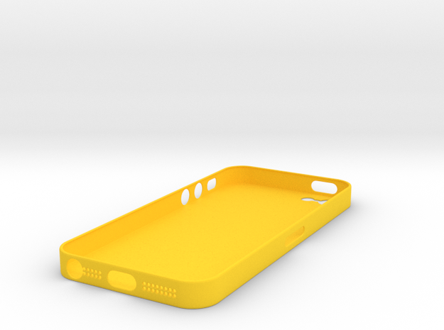 iPhone5 Case (0.7 mm thick) 3d printed