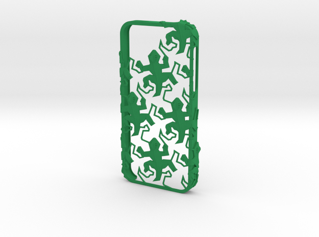 Escher Reptiles iPhone 5 / 5s Case 3d printed