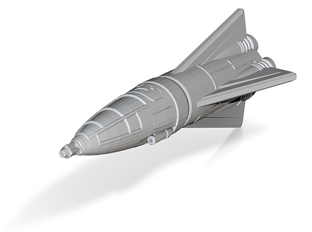 IPF Peregrine Fighter Rocket 3d printed