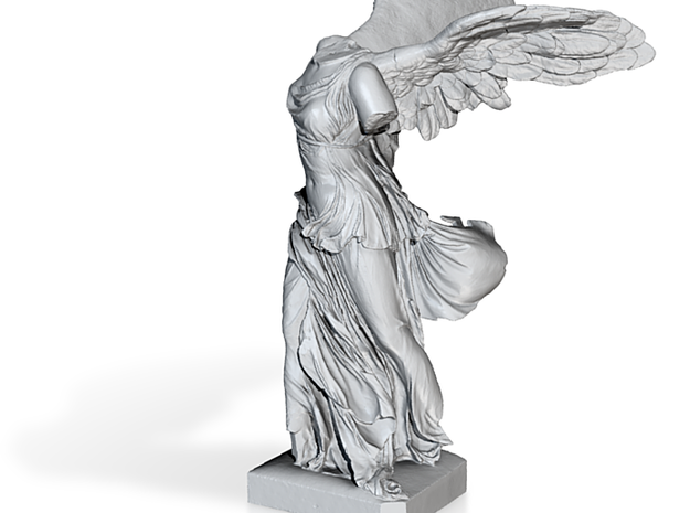 "Winged Victory (20"" tall) 3d printed"