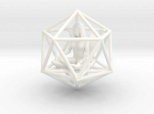 Angel Icosahedron Merkabah 50mm 3d printed
