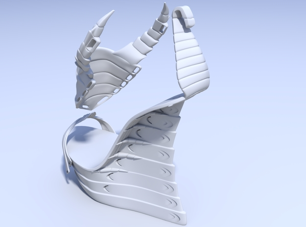 Janina Alleyne - Scorpion Shoe (Bottom) 3d printed Render 4
