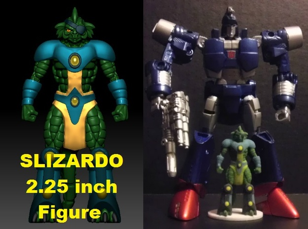Slizardo homage Komodo 2.25inch Transformers Mini