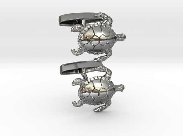 Turtle Cufflinks 3d printed