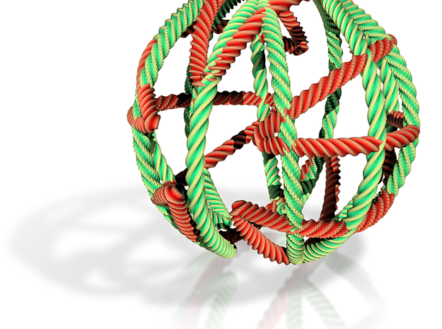 String Ball 3d printed