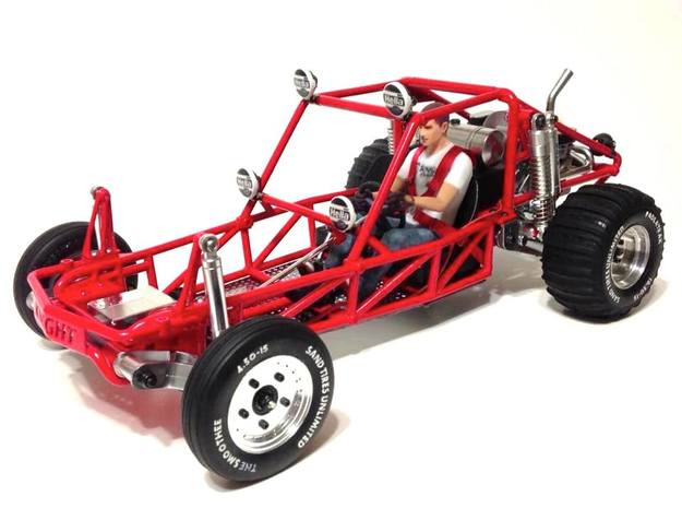 FA20003 Sand Rail Chassis Rear