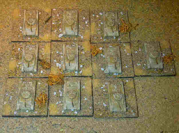 1/300 Carro Armato Celere Sahariano x 5 3d printed Models on finished bases, by Pz8