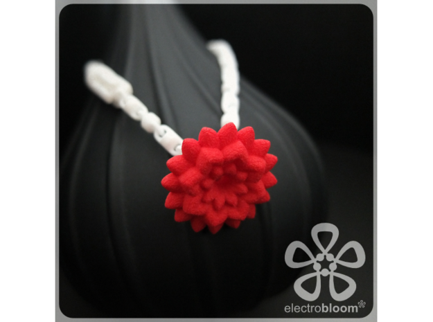 Betty flower charm. 3d printed