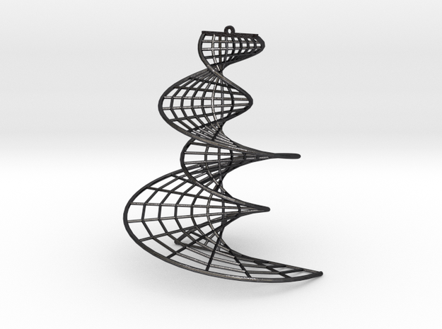 DNA earring | 3 inches 3d printed
