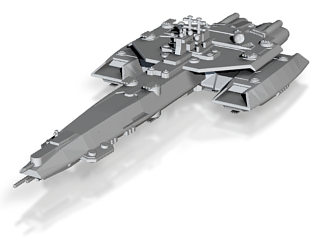uss achilles hollow 3d printed