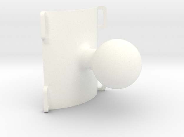 "2.25"" clamp solid 1"" ball 90° 3d printed"