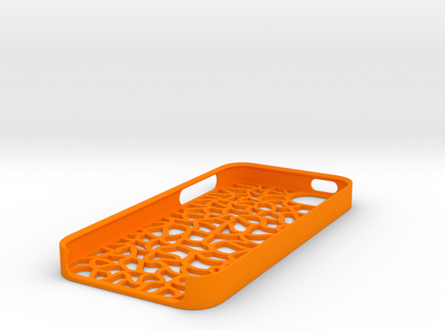 Skeleton iPhone 5 Case 3d printed