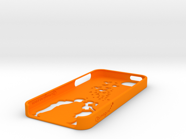 Girl and Boy iphone 5/5s Phone Case 3d printed