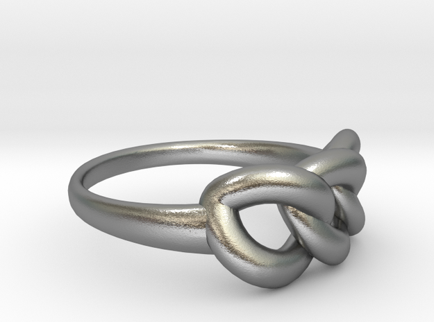 Ring of Beauty 3d printed Ring of Beauty Premium Silver