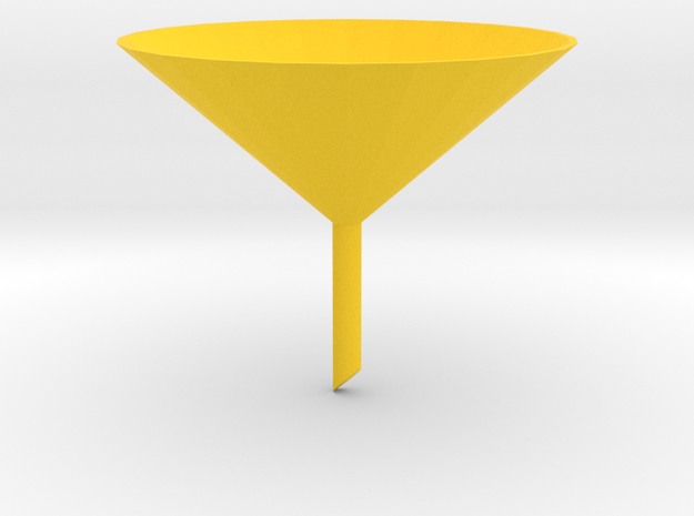 Funnel 3d printed