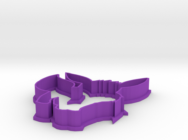 Eevee Cookie Cutter 3d printed
