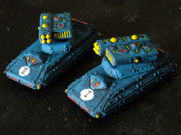 MG144-CT007A Capacitor Missile Tank (2) 3d printed