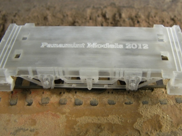 R24b New N Chassis for Bachmann Bobber Caboose x2 3d printed R24b cast steps